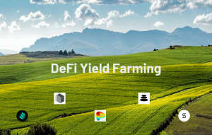 DeFi Yield Farming (%APY) by Bitcoin Addict Thailand