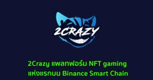 2Crazy แพลทฟอร์ม NFT gaming แห่งแรกบน Binance Smart Chain